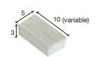 Bakstenen licht 10*5*3 mm