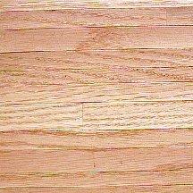 Rood eiken houten vloer, willekeurige planken
