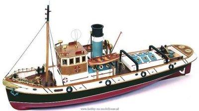 Ulises Remolcador; occre; modelbouw; boten; schepen; 61001;  Modelbouw; houten modelbouw;  modelbouw webwinkel; technische mode