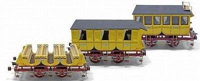 modelbouw schepen; OcCre; Occre modelbouw; modelbouw;  hobby en modelbouw; Verfpakket voor de wagonset voor de Adler