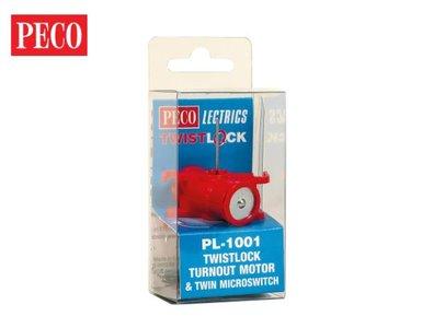 Pecolectrics TwitstLock Turnout Motor+Microswitch