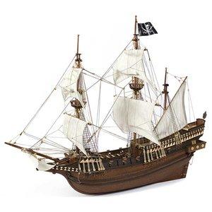 modelbouw schepen; OcCre; Occre modelbouw; modelbouw;  hobby en modelbouw; Verfpakket voor de Buccanneer