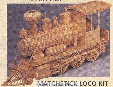 Stoomlocomotief; lucifer; modelbouw; matchmaker