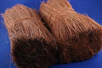 dakriet; rietdekken; kokosnootvezels; hobby en modelbouw
