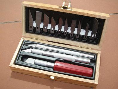 hobby en modelbouw; modelbouw; gereedschappen; gereedschapssets; Proedge 30832; 30820; messenset; meshouders;