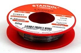 Soldeertin 50 gram, 1mm