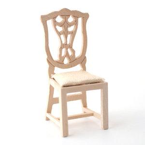 Eetkamer stoel - www.hobby-en-modelbouw.nl