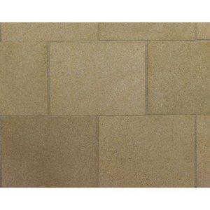 Platte patio stenen, kleur Y/Sandstone