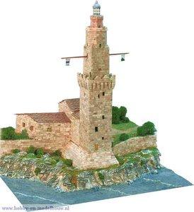 Aedes Ars; AE1259; Porto Pi lighthouse; miniatuur diarama; modelbouw diarama;  miniatuur burchten; modelbouw burchten; echte st