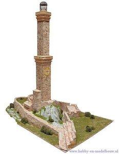 Aedes Ars; AE1263; Genova lighthouse; miniatuur diarama; modelbouw diarama;  miniatuur burchten; modelbouw burchten; echte stee