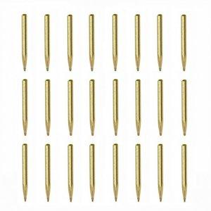Nageltjes 0,8 x 11 mm, messing zonder kop; amati; spijkers; spijkertjes; modelbouw