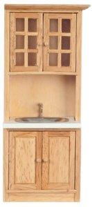 Keukenkast met aanrecht, onderdeel van complete keuken T4725