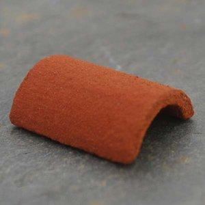 Nokpannen rond, Victorian red