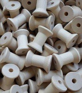 Klassieke houten klosjes ca 39 mm