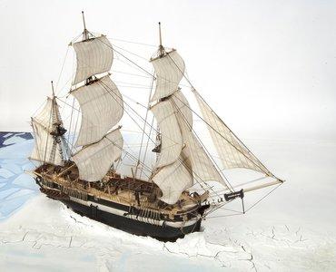 Bouwbeschrijving HMS Terror; OC12004;  modelbouw schepen; OcCre; Occre modelbouw; modelbouw; nederlandse bouwbeschrijving