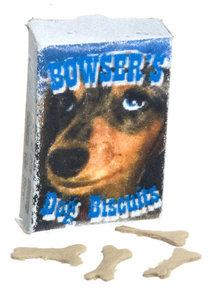 Pak met hondenbrokjes