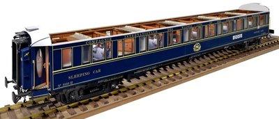 Slaapwagon van de Orient Express nr 3533 LX; amati; modelbouw