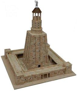 Aedes Ars; AE1271; Alexandria Lighthouse; miniatuur diarama; modelbouw diarama;  miniatuur burchten; modelbouw burchten; echte