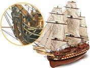 Montañés Navio; occre; modelbouw; modelbouw schepen; modelbouw schip; Occre; boten; schepen; nederlanse bouwbeschrijving; 150