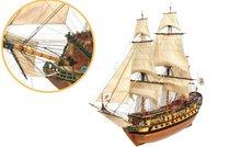 Nuestra Señora del pilar; oc15001; modelbouw; OcCre; Nederlandse bouwbeschrijving. 15001; occre; modelbouw; modelbouwschepen;